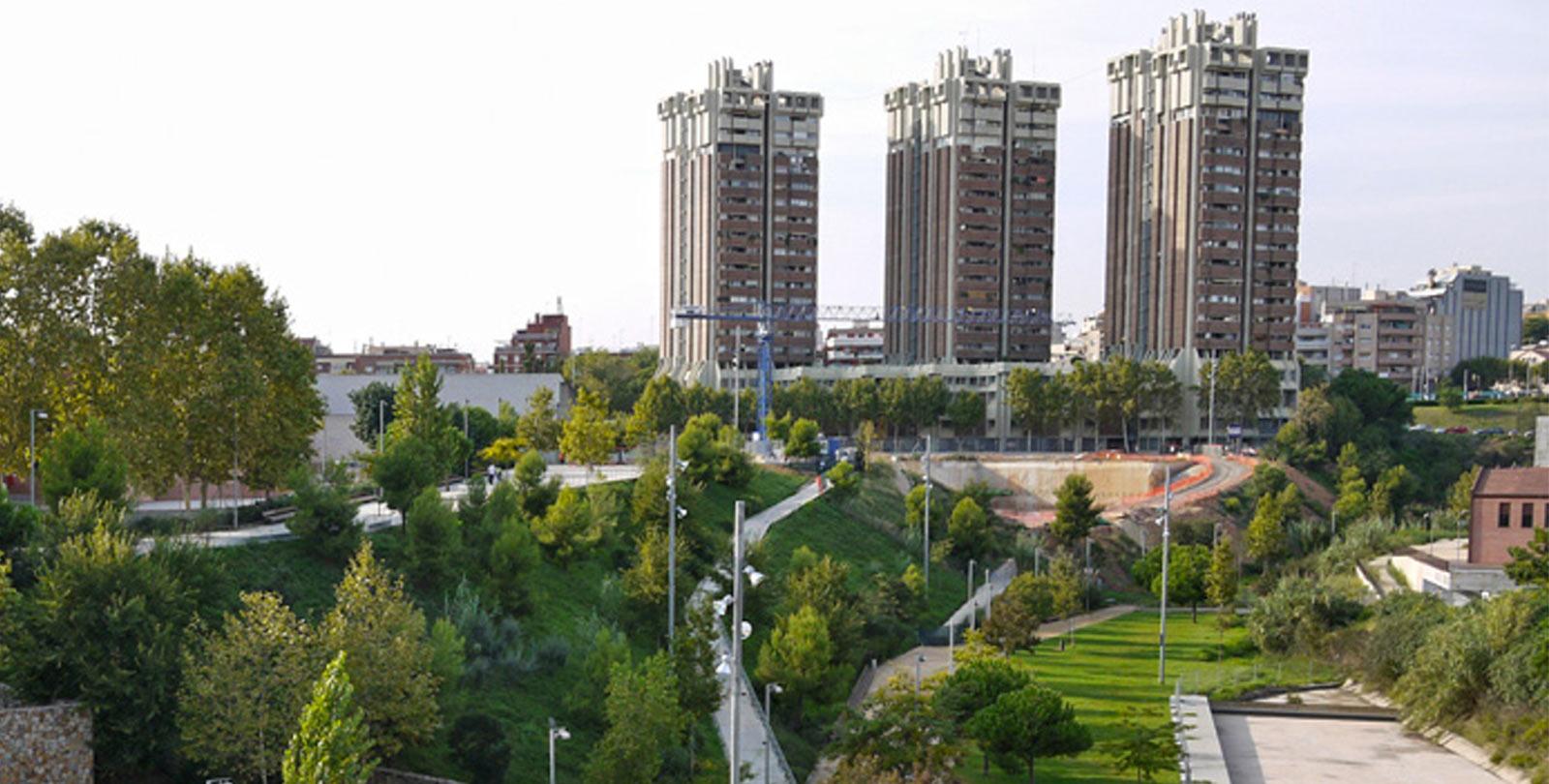 Zona Esplugues de Llobregat